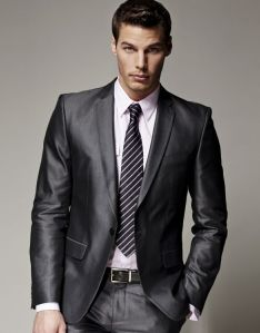 The ultimate  uniform - the executive suit