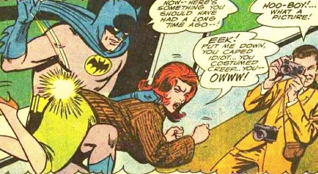 batman spanks