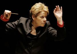female conductor