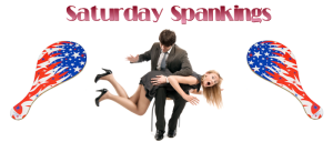Saturday Spankings-Patriotic Paddles