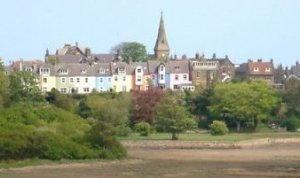 alnmouth coloured houses
