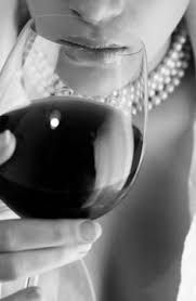 pearls and wine